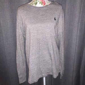 Ralph Lauren Long Sleeve Shirt - Light Gray
